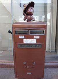 京都の郵便ポスト