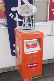 水沢の郵便ポスト
